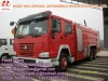 fire truck - factory direct sale-SINOTRUK HOWO 6x4 - min 266hp - water / water and foam fire truck