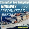 Shanghai/China to NORWAY sea shipping/FCL/LCL, Shanghai/China to ALESUND, BERGEN, OSLO, FREDRIKSTAD ea shipping/FCL/LCL