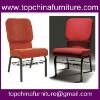 Comfortable stackable church chairs with link and bookshelf