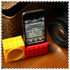 Non-external power for Phone 4 Silicone Stand Horn Loudspeaker