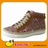 flower field design,wonderful quality leisure shoes