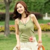 2012 Korean Style Women Lace Cotton Vest