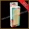 clear window front decorative paper boxes