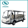 Newest electric shuttle bus CE Approved 14 seats with power-assisted steering