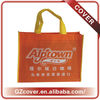 Orange Big Ultrasonic Nonwoven Eco bags