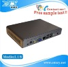 mini linux embedded pc XCY L-18 intel Atom N270 1.6Ghz processor fanless