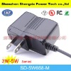 universal us plug digital camera/p3,p4 player/phone charger with output current 5w max in high quality
