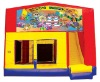 inflatable banner bounce house happy birthday