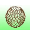 Willow trellis ball screen for garden