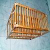 Wood Bathroom Shelf GH-8374