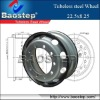 Tubeless Steel rim 22.5*8.25
