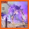 Rubber dinosaur dino skeleton puzzle