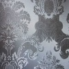 PVC wallpaper decoration with shiny