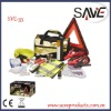 Road Safety Kit with Warning Triangle , Auto Safety Kit
