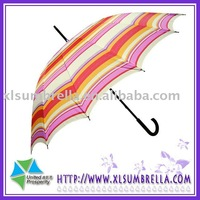 27'' Auto open promotion Straight Rain umbrella