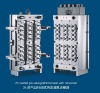 24 cavities pin-valve preform mould with hot runner