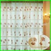 2012 polyester embroidery sheer drapes