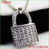 925 silver jewelry locket pendant
