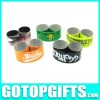 2012 neon color fashion reflective PVC slap wristband