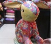 Cute rabbit cloth fabric toy
