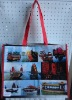 PP woven shopping bag with sailing boat design