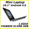 10 inch mini netbook laptop umpc, WIFI-netbook,Mini Laptop webcam