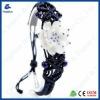 Chinoiserie JDZ ceramics Lotus Dancing hand-knitted bracelet/jewelry
