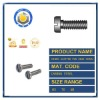 DIN85 Slotted Pan Head Screws For Grade A Product