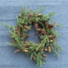 Artificial Pine Cones, Green Tree Foliages,Red Berry Garland