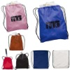 Polyester/Nylon Drawstring Backpack bag