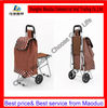 three wheel shopping trolley cart