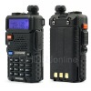 Highly cost-efficient Popular Dual Band 5W 128CH UHF VHF Walkie Talkie Two-Way Radio