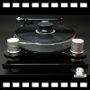 High-end T18 black Belt drive system & professional DC turntable motor phonograph