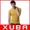 MENS T SHIRTS V NECK FASHION DESIGN