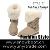 High quality double face sheepskin snow boot classic women fashion winter boot