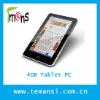 Fashion New Tablet PC 4GB android OS WIFI 7.0 inch touchscreen portable computer