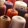 Acrylic high bulk yarn