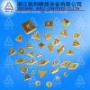 Cemented carbide cutting tools \ Indexable inserts \ Brazed tips