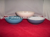 Stock ceramic stoneware salad bowl