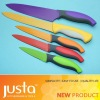 6pcs Non-Stick color Knife Set