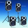 Powerful Active speaker cabinet Aluminum PS Series