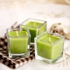 Wholesale Scented Square Glass Candle Gift Sets For Weddings