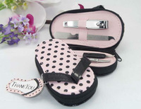 pink small shoe design gift bag for girls