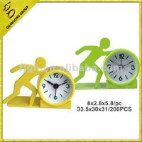 sports shape alarm clock