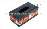 Hot Sale Fashion Square Leather Tissue Box