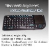 High Quality Keyboard Bluetooth with Windows Multimedia Control