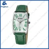 Bracelet PU Leather Watches with Green Strap