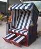 roofed wicker beach chair &daybed