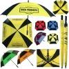 durable square advertising golf umbrella
