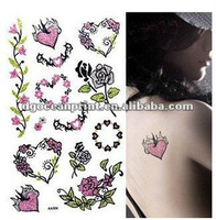 Fashion Cartoon Tattoo Stickers